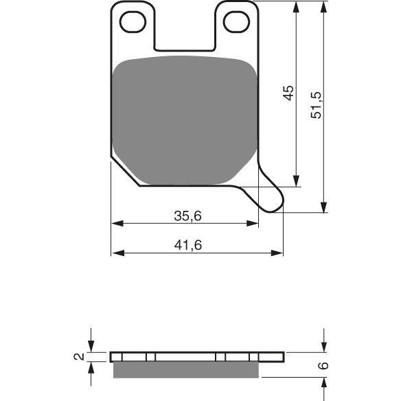 Goldfren Front Pads 008-S3
