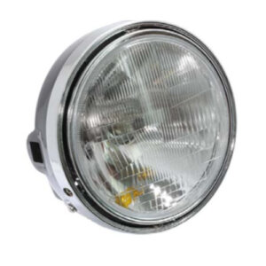 Universal Headlight 20cm - Black Back