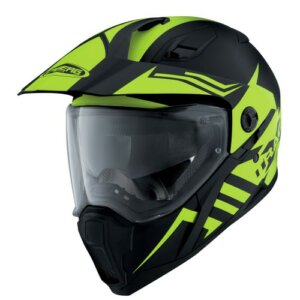 Caberg Xtrace Lux Matt Black/ Yellow Fluo