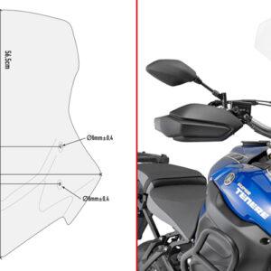GIVI Touring Screen - Yamaha XT1200ZE