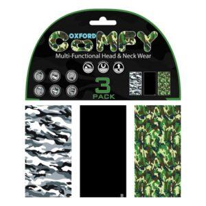 Oxford Comfy 3-Pack Camo