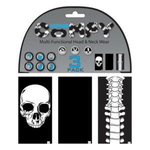 Oxford Comfy 3-Pack Skulls