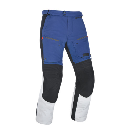 Oxford Mondial Advanced Pants Regular Leg Grey Blue & Red