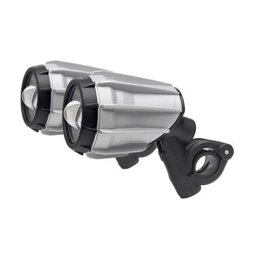 GIVI LED Fog Lights - Silver