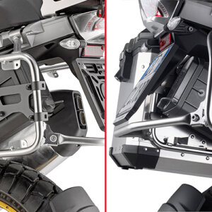 Fitment Bracket for S250 Toolbox BMW R1200GSA 14>17