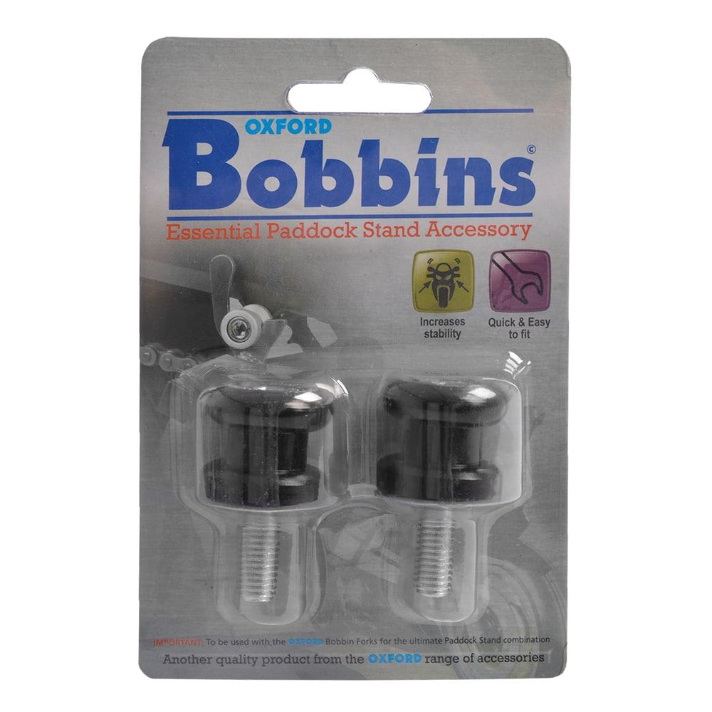 Bobbins M10 (1.25 fine thread) Black
