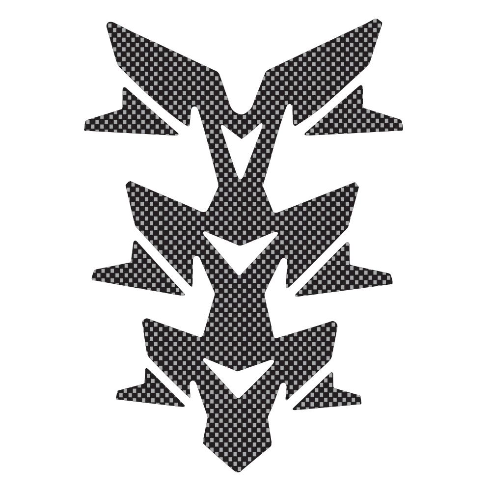 Gel Spine Invader - Carbon