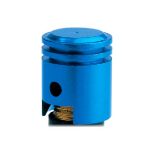 Piston Valve Caps Blue