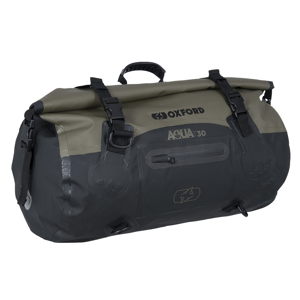 Aqua T-30 Roll Bag Khaki/Black