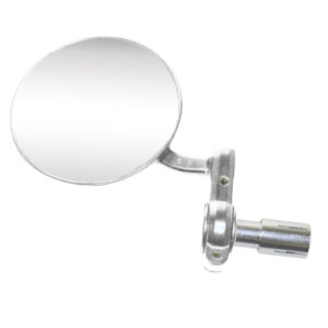 Bar End Mirrors - Silver