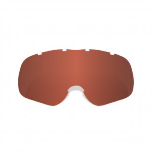 Assault Pro Tear-Off Ready Red Tint Lens