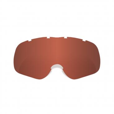 Assault Pro Tear-Off Ready Red Tint Lens