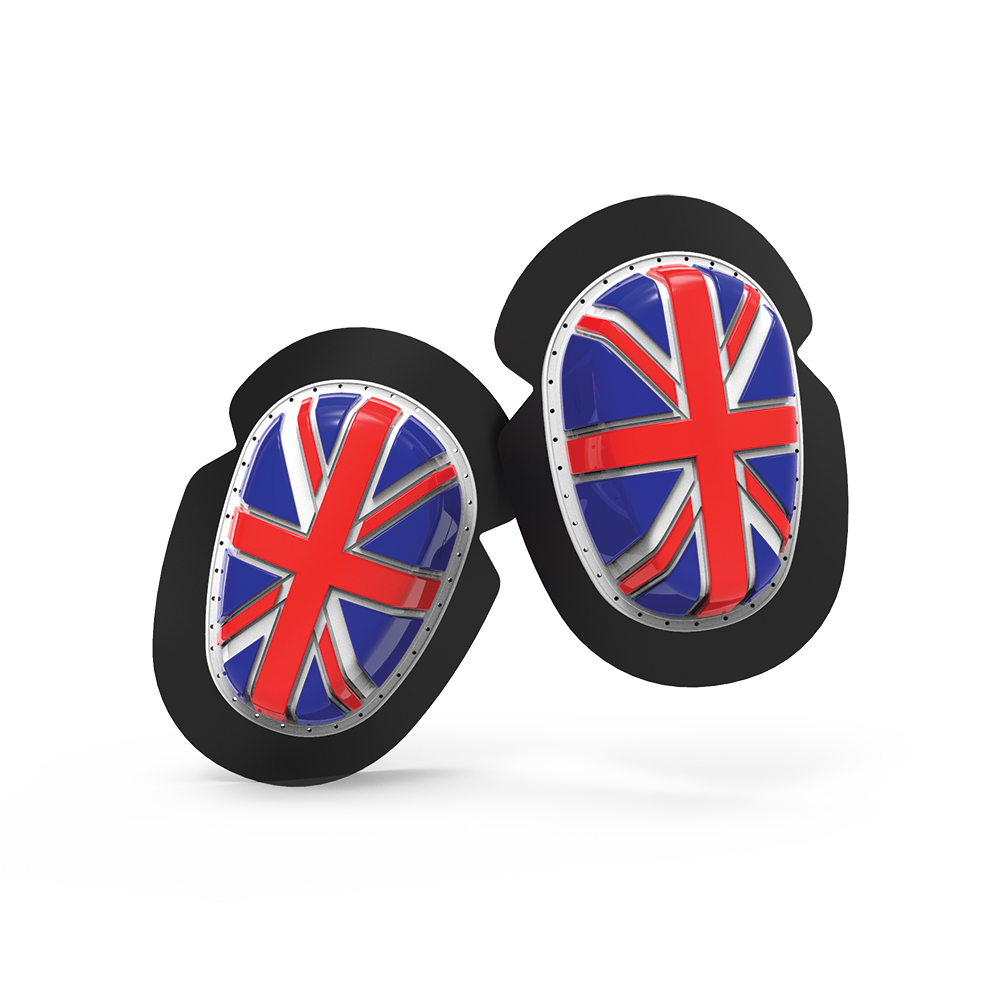 Union Jack Knee Sliders