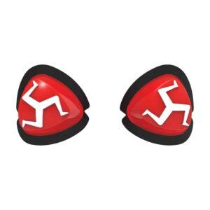 Manx Knee Sliders Red