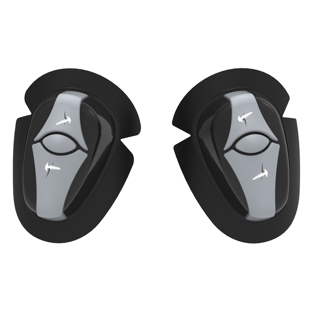 X Ray Knee Sliders Black
