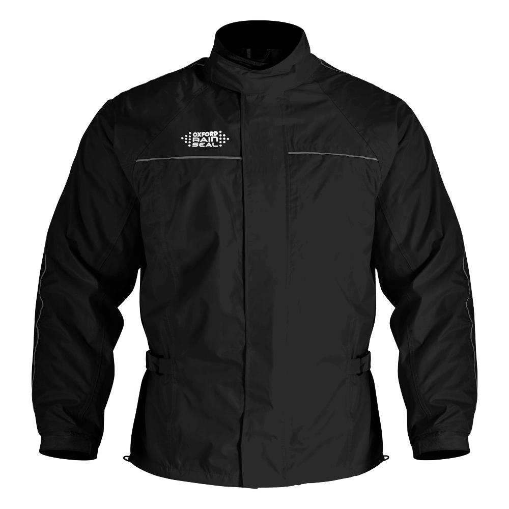 Oxford Rain Seal All Weather Jacket - Black