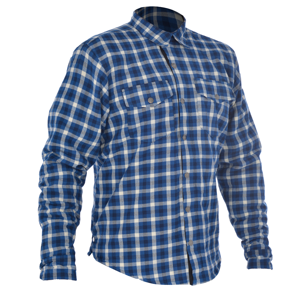 Oxford Kickback Shirt Checker Blue & White
