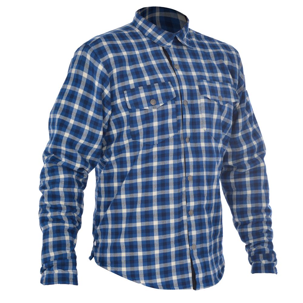 Oxford Kickback Shirt Checker Blue & White