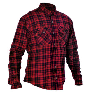 Oxford Kickback Shirt Checker Red & Black