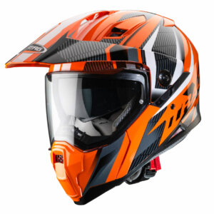 Caberg Xtrace Savana Orange and Black