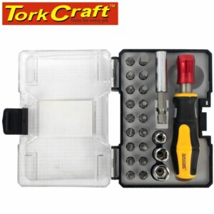 23 Piece Bit set with driver and Magnetic adapter